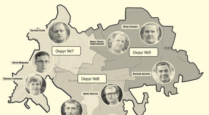 избирательные округа в Великих Луках
