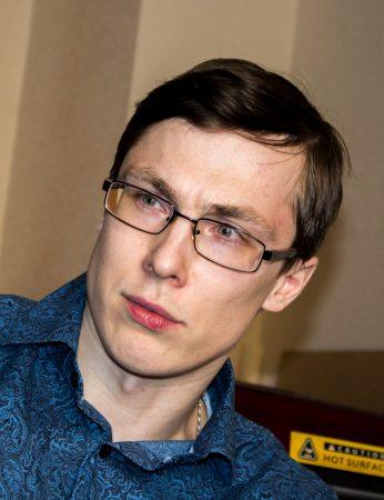 Артем Медведев, председатель Великолукского отделения партии «ЯБЛОКО».