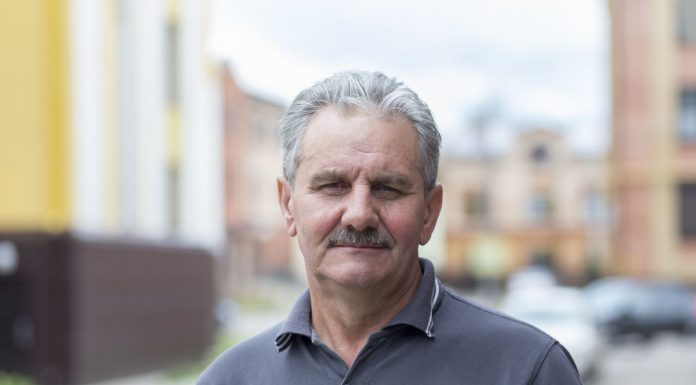 Виталий Аршинов, кандидат на пост главы Плюсского района