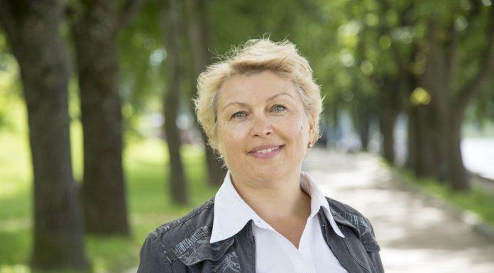 Ольга Дмитриева, кандидат в депутаты Псковской городской Думы в составе единого списка и по одномандатному округу №5.