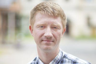 Юрий Ходов, кандидат в депутаты Псковской городской Думы в составе единого списка и по одномандатному округу №10.
