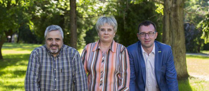 Артур Гайдук, Татьяна Федорова и Дмитрий Пермяков – лидеры списка партии «Яблоко» на выборах в Псковскую городскую Думу.
