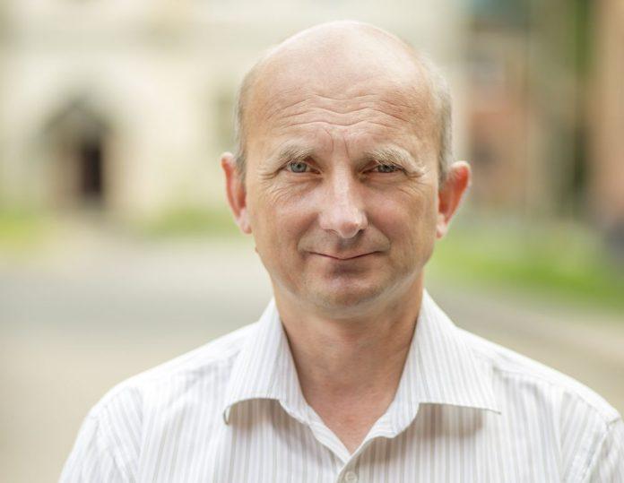 Александр Окунев, кандидат в депутаты Псковской городской Думы в составе единого списка и по одномандатному округу №1.