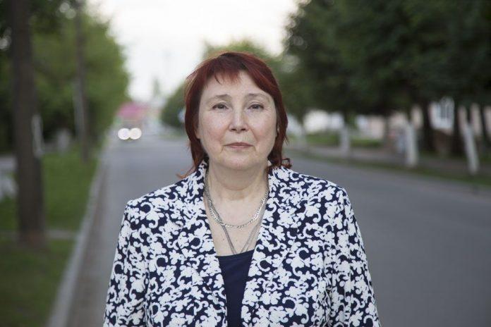 Светлана Леонова, кандидат в депутаты Дновского районного Собрания депутатов в составе списка партии и по одномандатному округу №2.