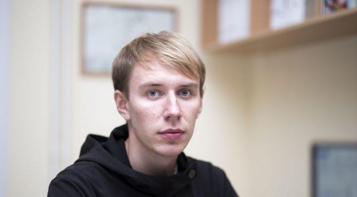 Пустошка, Александр Андреев, кандидат в Собрание депутатов Пустошкинского района в составе единого списка партии «Яблоко»