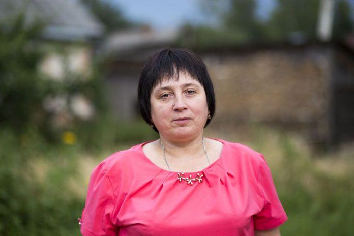 Светлана Лапова, кандидат в Собрание депутатов Пустошкинского района в составе единого списка партии «Яблоко» и по одномандатному округу №1.
