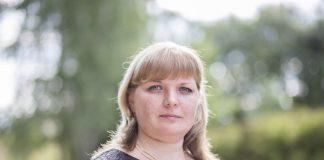 Кандидат команды Палкинского «Яблока» Наталья Ковалева