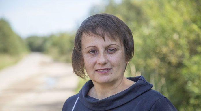 Любовь Полиэктова, лидер списка партии «Яблоко» в Порховском районе