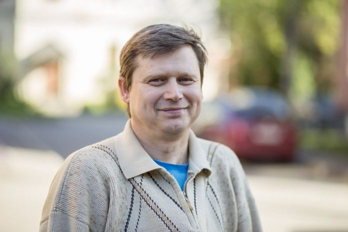 Андрей Яковлев, кандидат в депутаты Собрания депутатов Порховского района от партии «ЯБЛОКО»