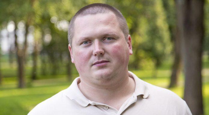 Роман Ладыщенко, кандидат в Островское районное собрание депутатов в едином списке партии «Яблоко» и по одномандатному округу №5