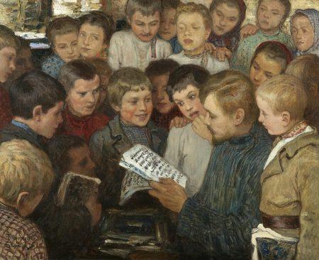 Николай Богданов-Бельский, «Сельская школа»