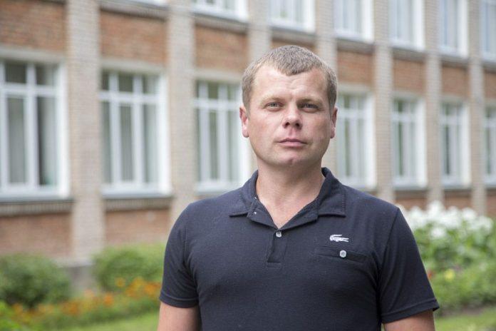 Иван Пожиганов, кандидат в депутаты Собрания депутатов Локнянского района в составе единого списка партии и по одномандатному избирательному округу №3.