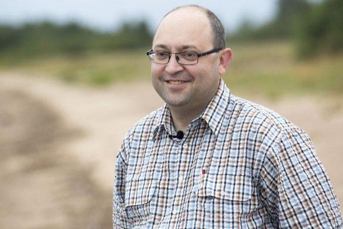 Роман Мерцалов, кандидат в Собрание депутатов Гдовского района в составе единого списка партии «ЯБЛОКО» и по одномандатному избирательному округу №2.
