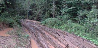 Дороги - одна из главных проблем Гдовского района