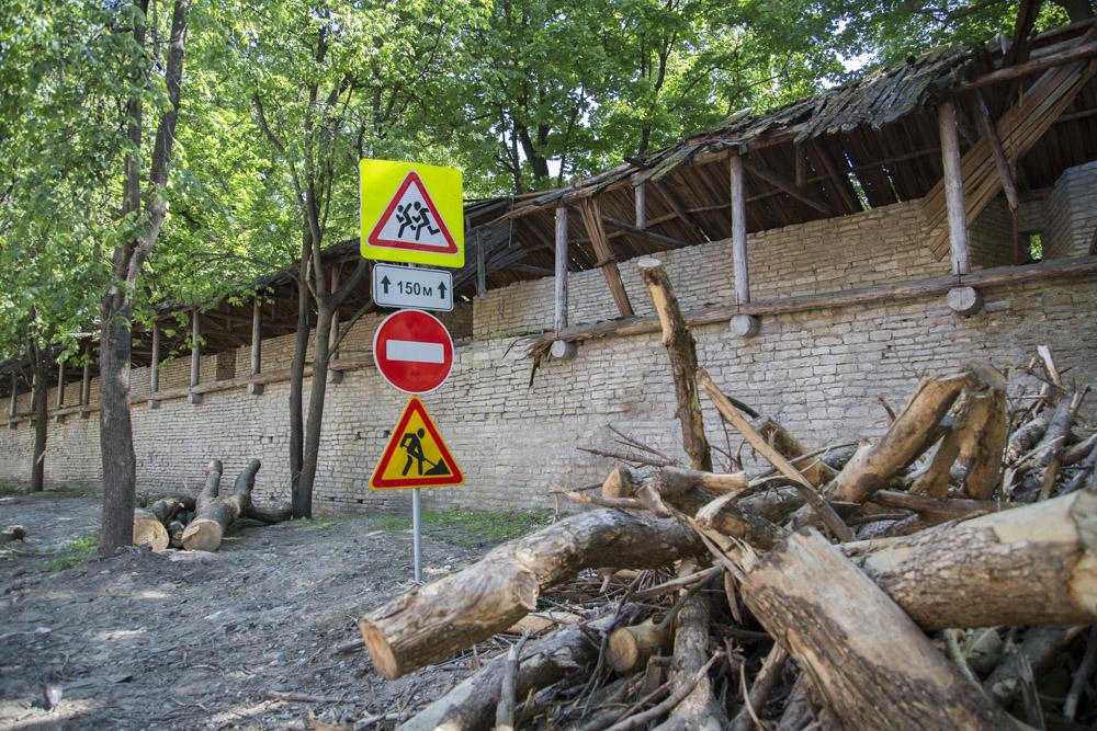 Город-сад у строителей туркластера пока не получился.