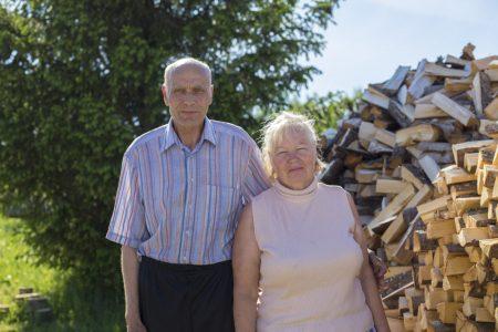Николай Леонидович Столбов и Татьяна Константиновна Сухаревич.
