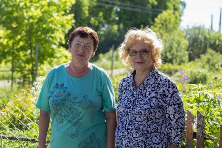 Александра Федоровна Терентьева и Светлана Владимировна Рахманова.