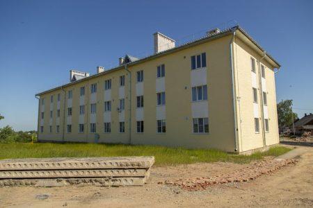 Дом для переселенцев в Дубраве.