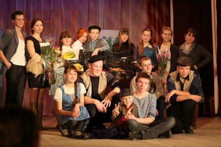 Театр «Растворись в позитиве», спектакль «Рыночный переполох».