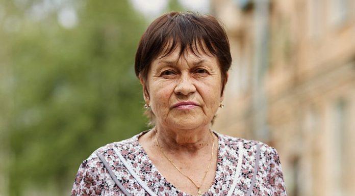Жительница поселка Родина Маргарита Вениаминовна Николаева.