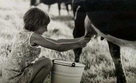 Лариса Семашко в детстве
